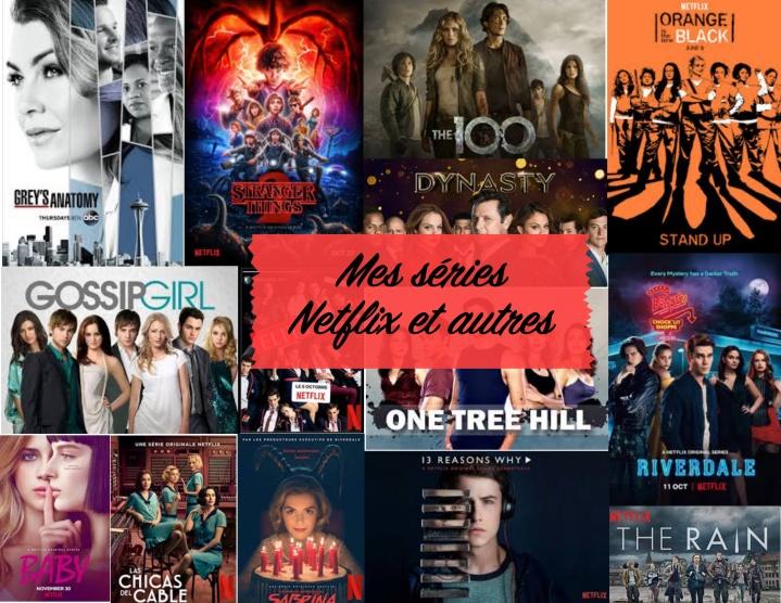 Mes séries Netflix