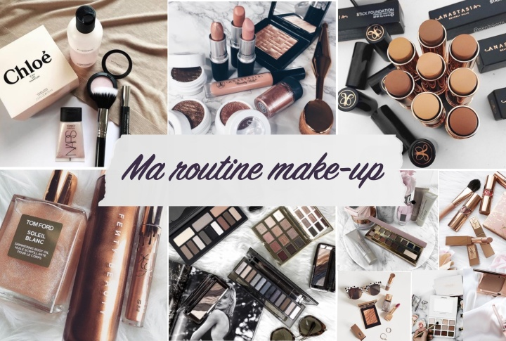 Ma routine make-up
