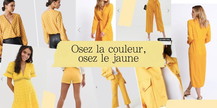 Osez la couleur, osez le jaune!