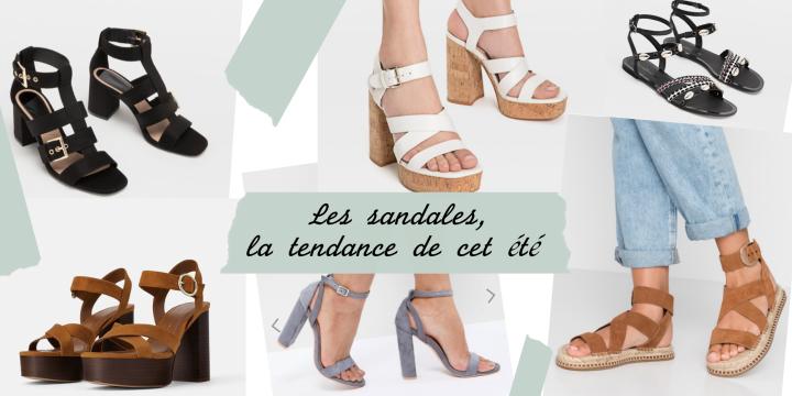 Les sandales, la tendance de cetété