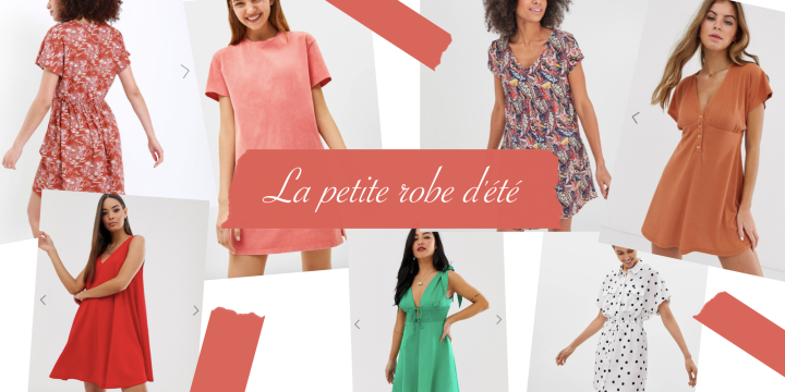La petite robe d'été idéale pour affronter les hautestempératures